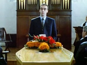 John Hannah Reciting Funeral Blues By W Auden In Four Weddings And A