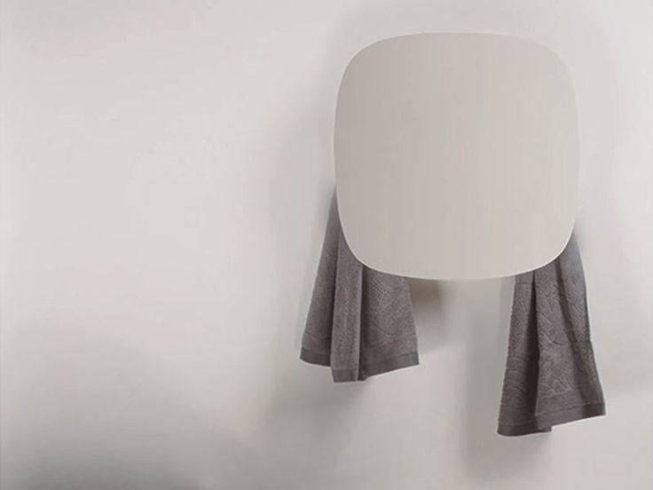Electric wall-mounted aluminium towel warmer SQUARE I Geometrici   Towel warmer Collection by mg12   design Monica Freitas Geronimi