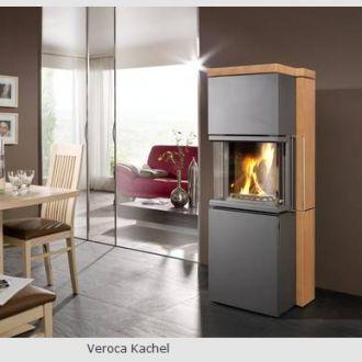Kaminofen Koppe Veroca Kachel,Sandstein und Speckstein -...
