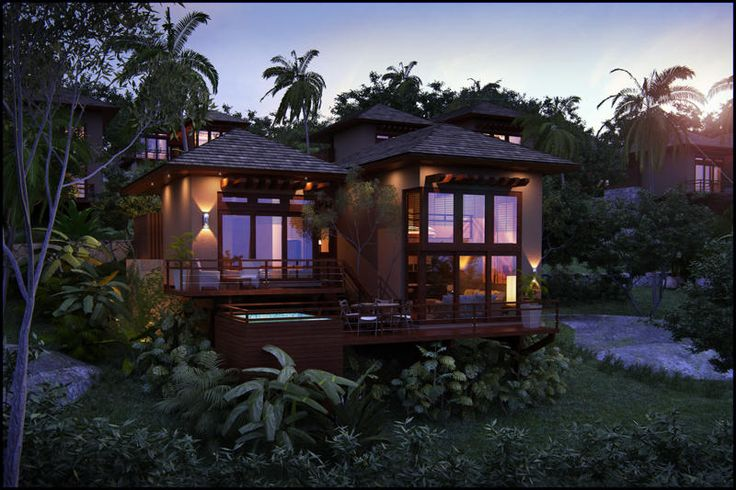 12 best family living bali style images on pinterest for Prefab tropical homes