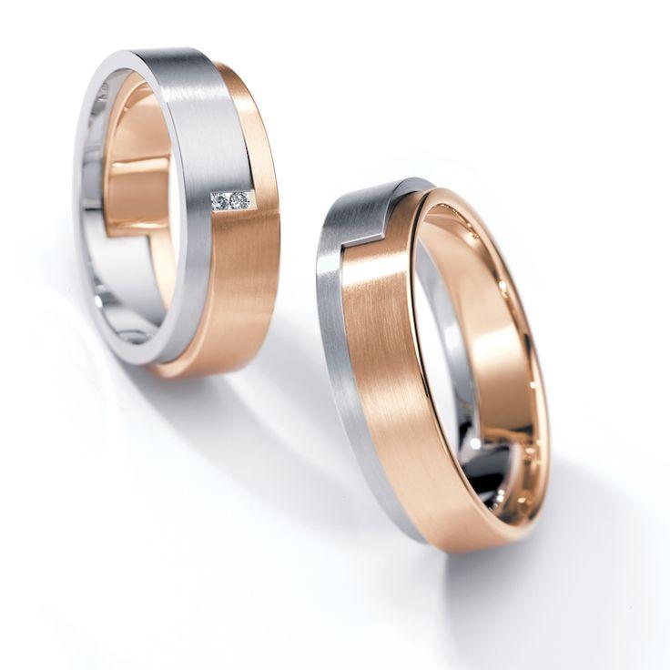 www.ORRO.co.uk - Henrich & Denzel - Piega Wedding Rings - ORRO Jewellery Glasgow...