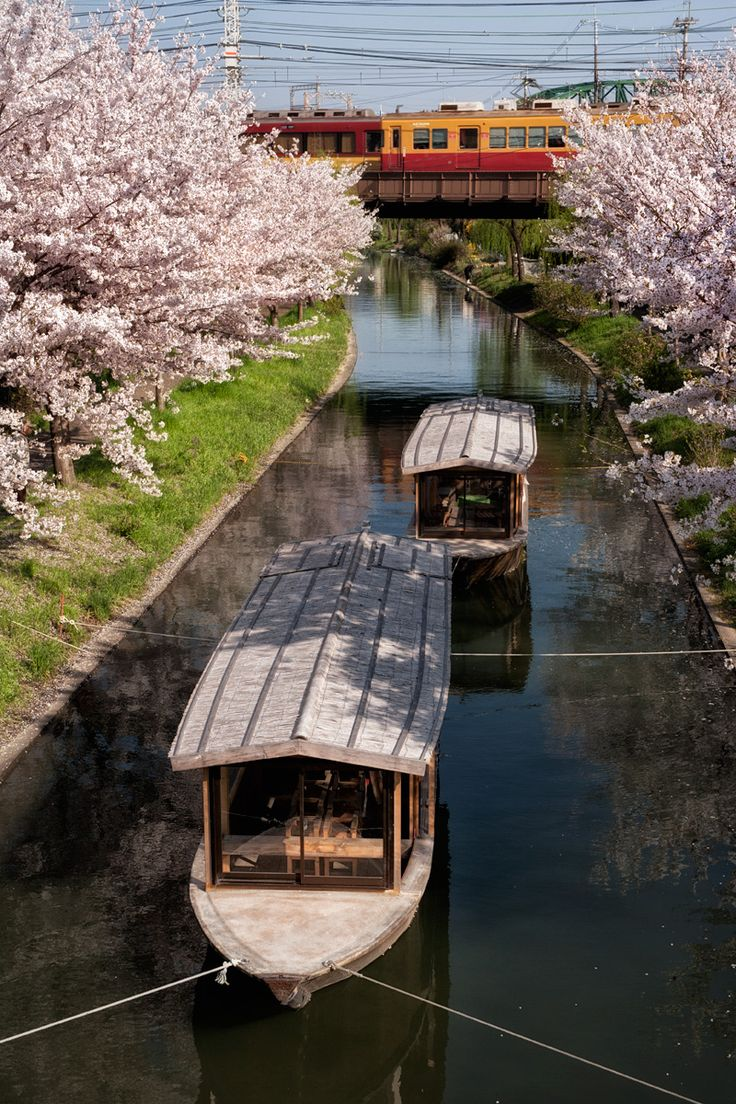 Kyoto, Japan: photo by mptfk: Mptfk Travel, Channel Japan, Japan With Multicityworldtravel, House Boats, Travel Japan, Asia Japan, Kyoto Japan, Japan Travel, Kyoto Channel