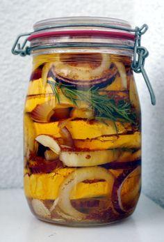 Domácí nakládaný hermelín recept