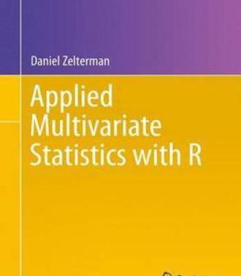 Applied Multivariate Statistics With R PDF