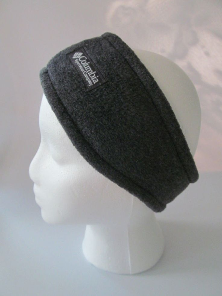 Columbia Fleece Winter Headband Unisex Gray Size S/M Columbia Sportswear #Columbia #Ski