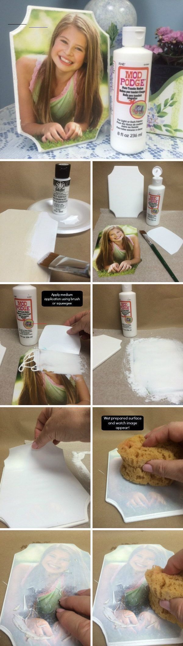 33+ Mod podge crafts photo transfer ideas in 2021