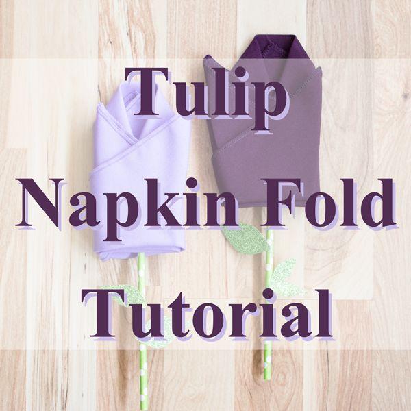 easy paper napkin folding instructions