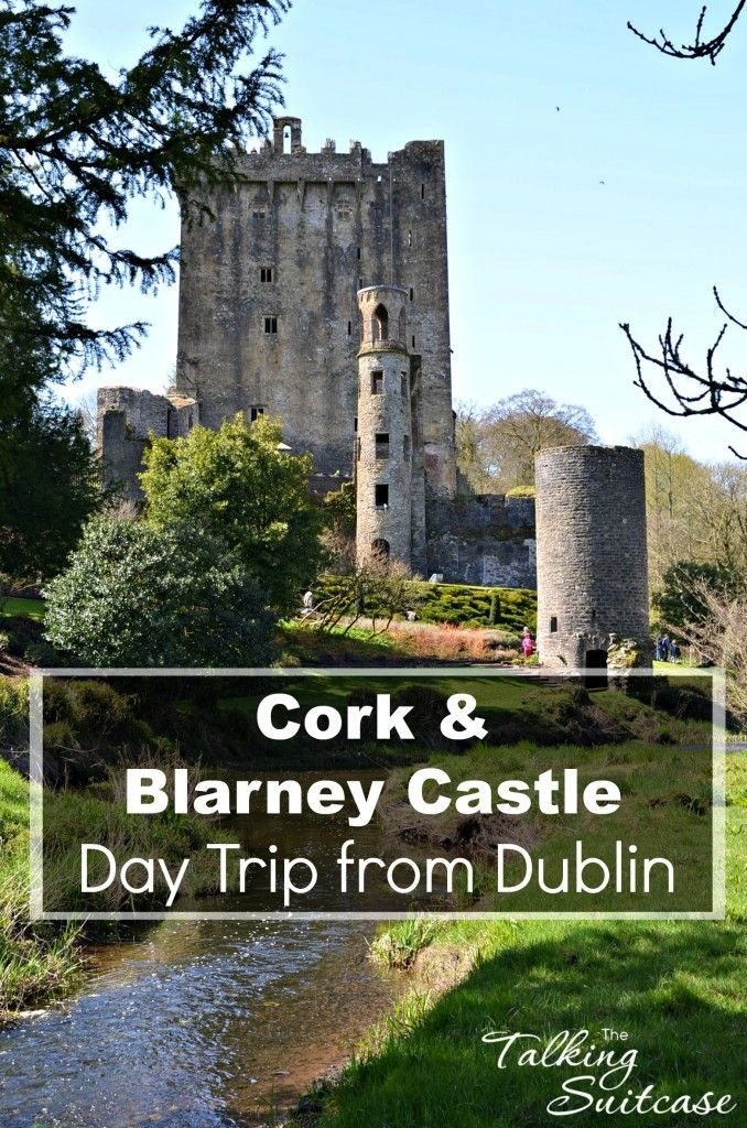We took a day trip from Dublin and jumped on a Cork and Blarney Castle Tour.  It's a great way to see Ireland and even kiss the Blarney Stone!