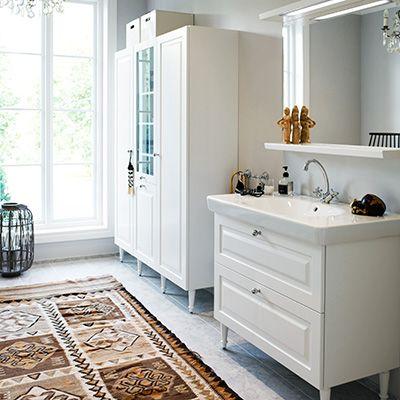 Badrumsinredningen Tidy - tidlöst från Vedum kök och bad – Nytt kök badrum och tvättstuga - Vedum kök och bad AB