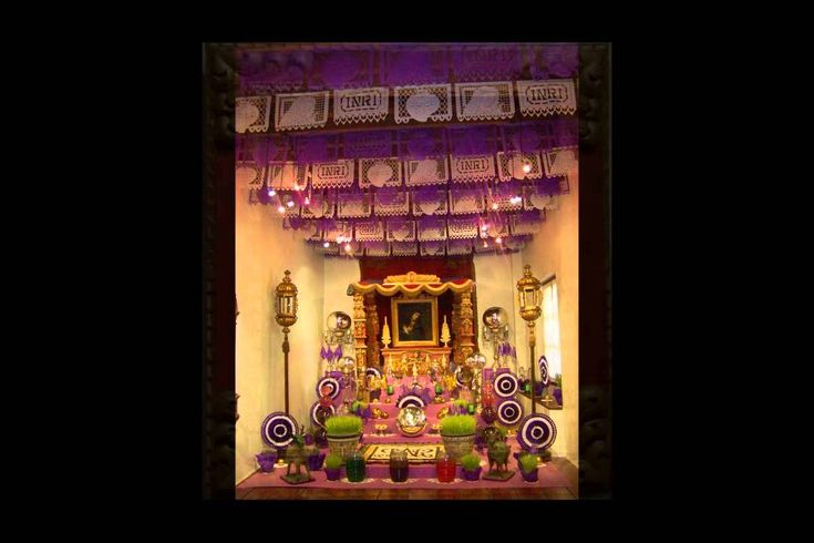 Altar a la Virgen de Dolores MUSEO CASA DEL RISCO 2013