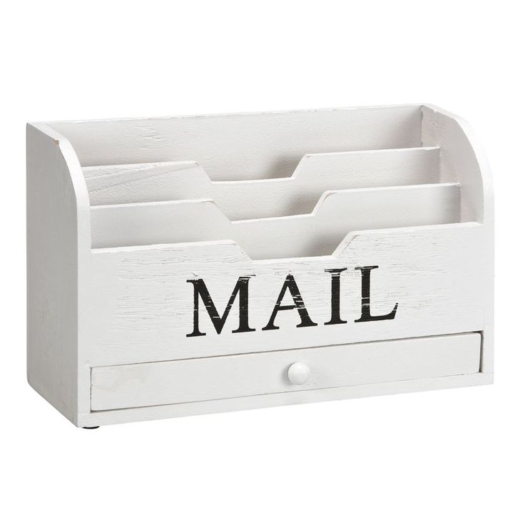 brievenhouder MAIL Wit