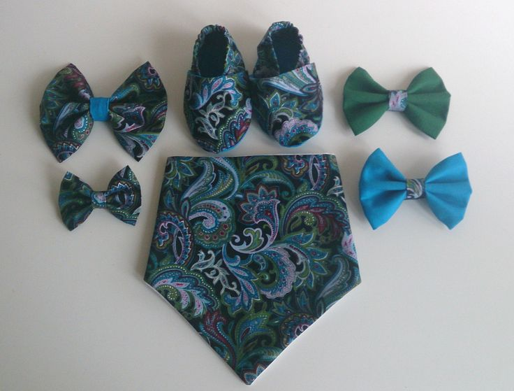 Hallucinate - Black/Aqua - Collection - comes with a choice of bow, from £12.50