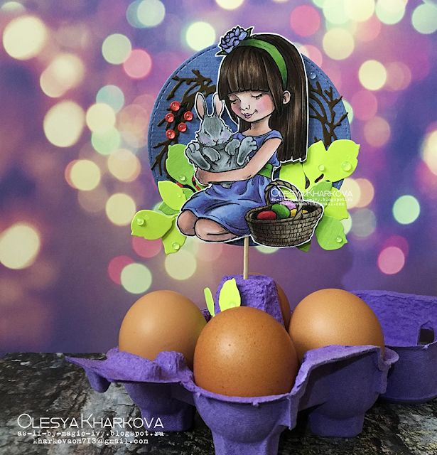 As if by magic by Olesya Kharkova: Late Easter decorations | Mo's digital pencil