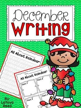 Here is a freebie to get your students writing this holiday season. Enjoy and thanks for your support!!!  1. How to Decorate a Christmas Tree (procedural writing) 2. The Best Holiday Gift (opinion writing) 3. All about Reindeer (informative writing) 4.