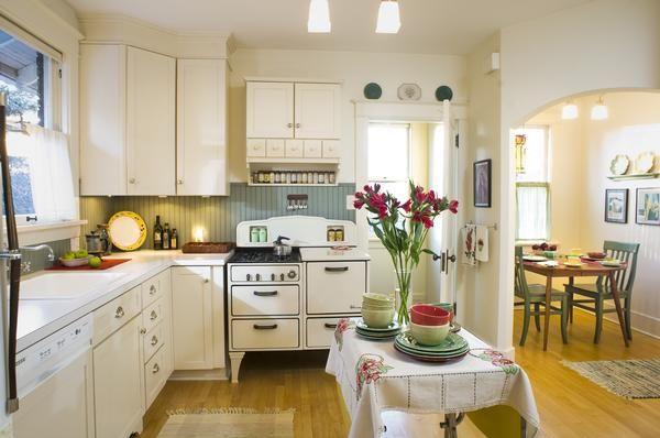 164 best craftsman kitchens images on pinterest for 1930 bungalow interior design