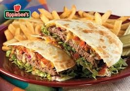 Applebee's Quesadilla Burger