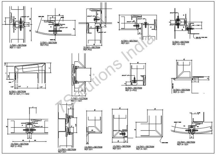 Structural Steel Detailing India 3d Tekla Modeling