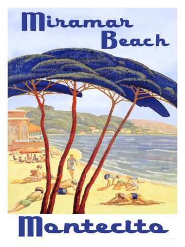 "Santa Barbara Miramar Beach California. The ""Rich & Famous"" live in Montecito adjacent to  Santa Barbara. Some beautiful homes there!"