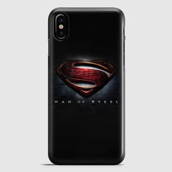Man Of Steel Superman 2013 iPhone X Case   casescraft