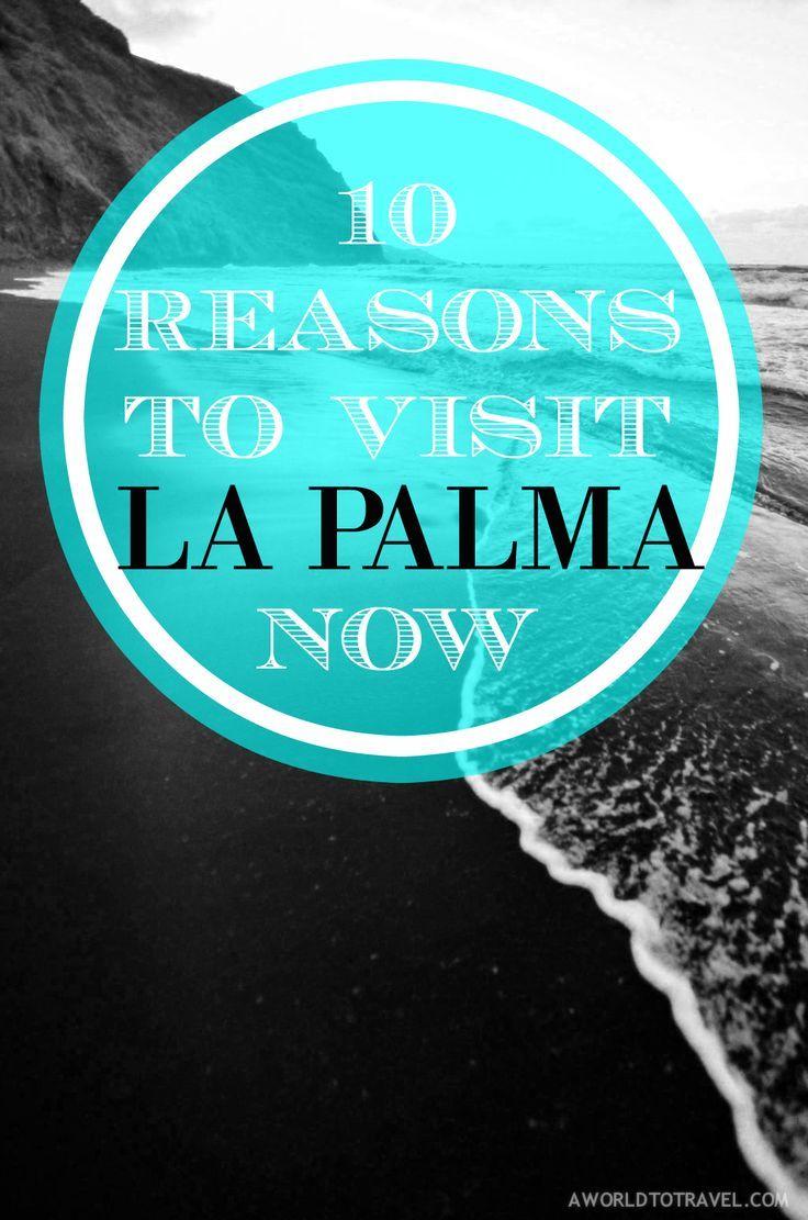 10 Reasons To Visit La Palma Now.  La Palma, Canary Islands, Spain.