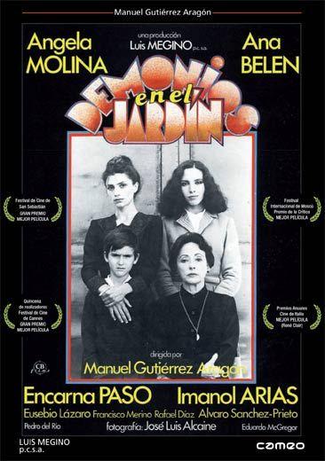 Demonios en el jardín (1981) España. Dir: Manuel Gutiérrez Aragón. Drama. Infancia. Familia. Postguerra - DVD CINE 1148