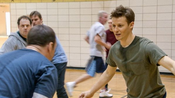 4. Will Estes sometimes plays basketball between scenes if there's a court nearby.