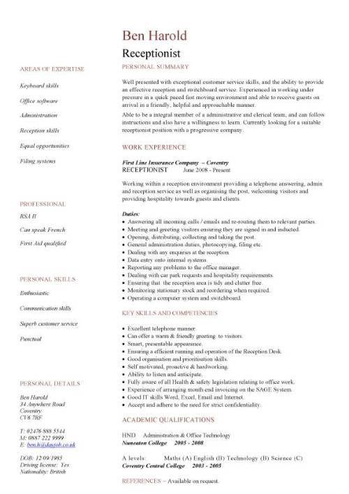 Resume-samples-receptionist-resumesschool-receptionist
