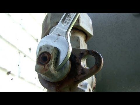 How To Turn Off The Main Gas Supply - YouTube