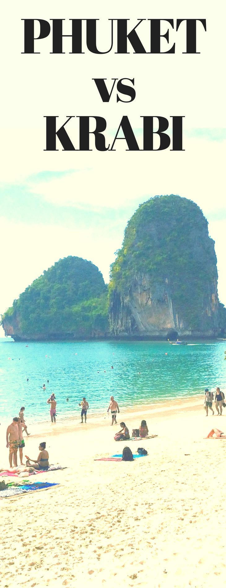 The Phuket vs Krabi is a long standing debate. Click here to see which is the right option for you
