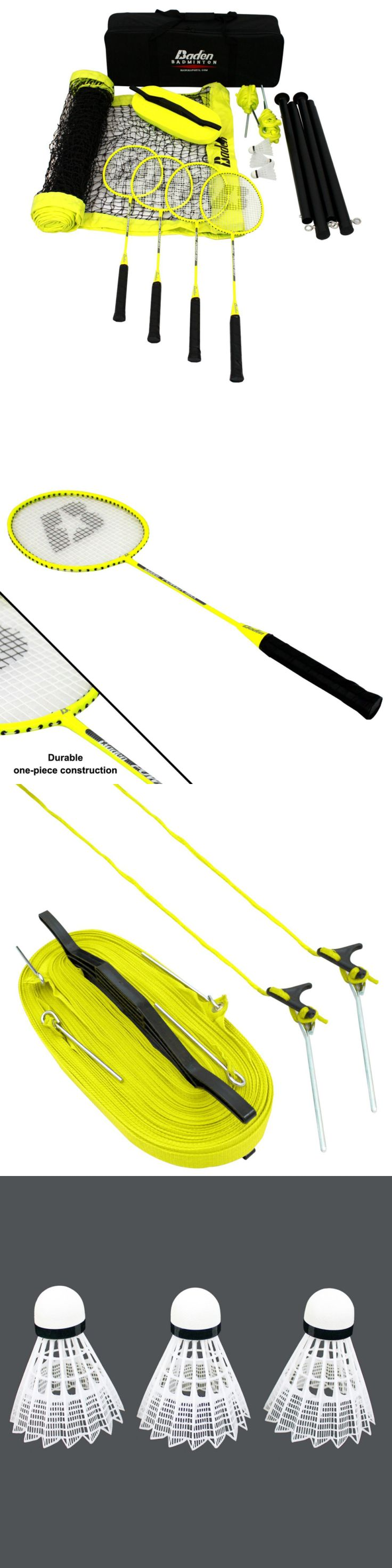 Badminton 106460: Baden Champions Series Badminton Set -> BUY IT NOW ONLY: $121.99 on eBay!