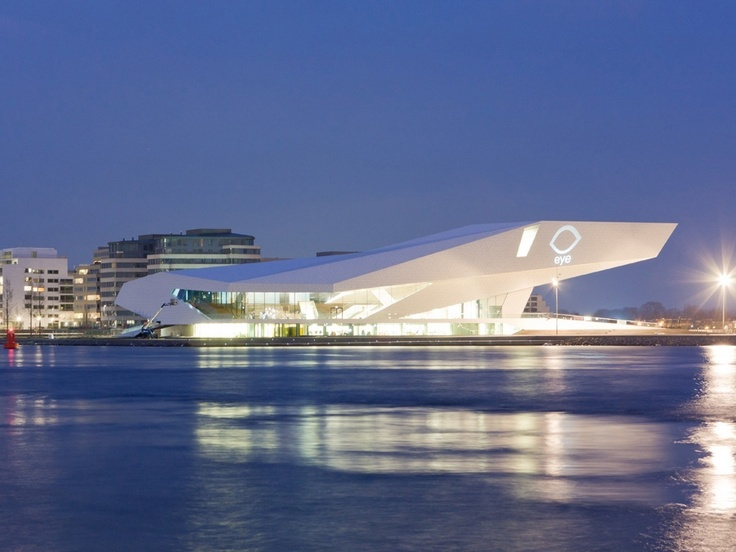 EYE Film Institute by Delugan Meissl Associated Architects Amsterdam, the Netherlands.