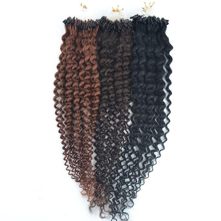 Micro Loop Hair Extensions Brazilian Virgin Remy Hair Curl 100s 20inch 50g Human Natural Hair Micro Rings Links Hair Extension -  http://mixre.com/micro-loop-hair-extensions-brazilian-virgin-remy-hair-curl-100s-20inch-50g-human-natural-hair-micro-rings-links-hair-extension/  #HairExtension
