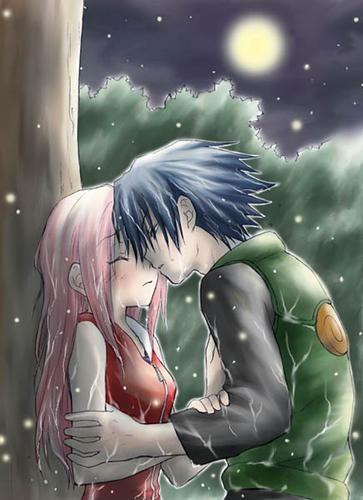 Sasuke y sakura SasuSaku