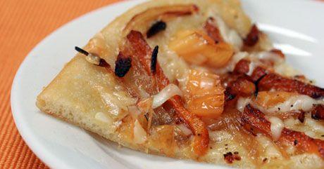 Fresh pizza dough (Recipe: peachy mama pizza)