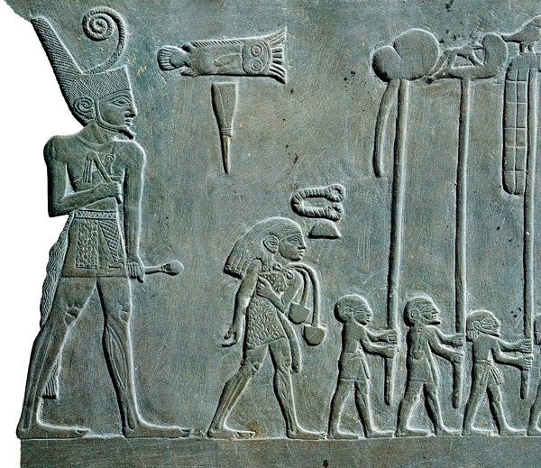 King Narmer's Pallete - Includes depiction of  Twa people, the oldest people on the Planet.