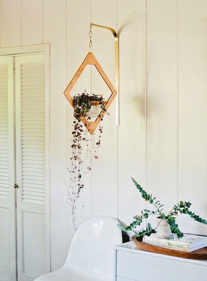 Jungalow planter via Justine Blakeney ; Gardenista