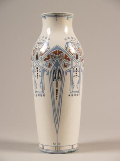 Vase. Dordtsche Kunstpotterij DKP. ca.1905