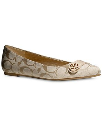 COACH ONIDA FLAT - Coach Shoes - Handbags & Accessories - Macy's