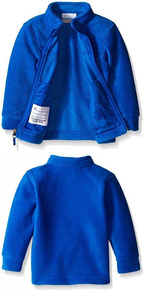 Columbia Sportswear Baby Steens MT II Fleece Outerwear, Super Blue, 6/12