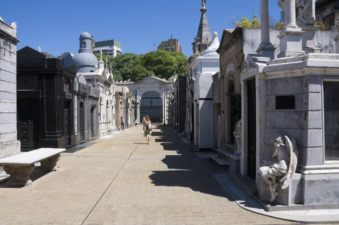 Cementerio de la Recoleta - Free tours in English are available at 11am on Tuesday and Thursday