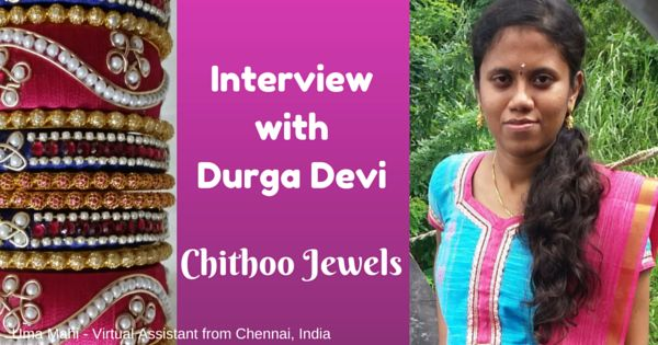 Help For Small Business Owners: An Interview with Durga Devi, Chithoo Jewels