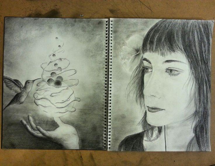 Art diary sketch 'Eleanors Magik'