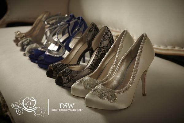 "Alt Disney World: New line of shoes from DSW inspired by Disney's ""Cinderella"": Disney Shoes, Shoe Collection, Wedding Shoes, Disney Princesses, Dsw, Cinderella Shoes, Shoes Collection, Slippers Collection, Glasses Slippers"