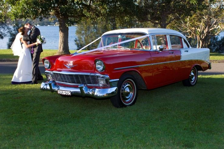 56 Chevy Hire Wedding Car Central Coast NSW $400
