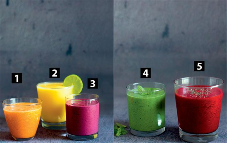 5 smoothies: Giv dig selv et energiboost