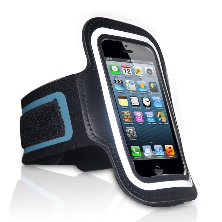 Red Star Tec iPhone 5 Armband for Running Keep Your iPhone Safe While You Run, Work Out or Play Sports Adjustable Armband Holder for iPhone 5, 5S & 5C & iPod 5. No more worrying about how secure your iPhone 5 with the Red Star Tec iPhone 5 running armband. You'll swear it was made to fit you choose from two arm size options. Neoprene construction ensures this sports armband never slips or slides and it won't dig into your skin either. Your phone's just a glance away clear cover keeps your...