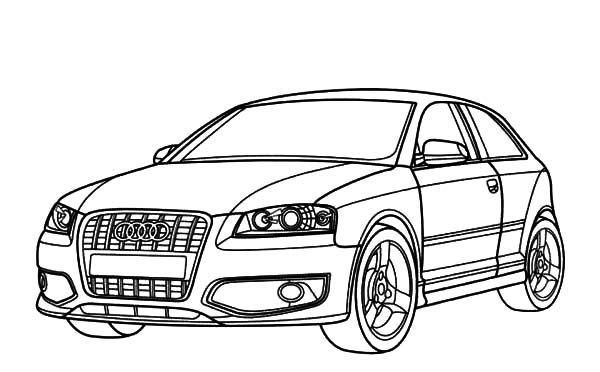 Audi R8 Coupe Coloring Page Coloring Pages Cars Coloring Pages Classic Car Insurance