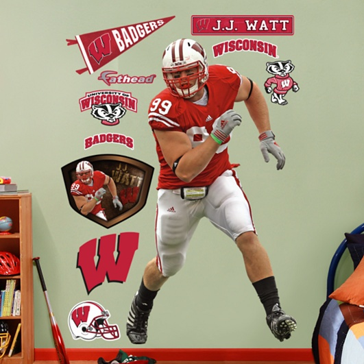 J.J. Watt, Wisconsin Badgers