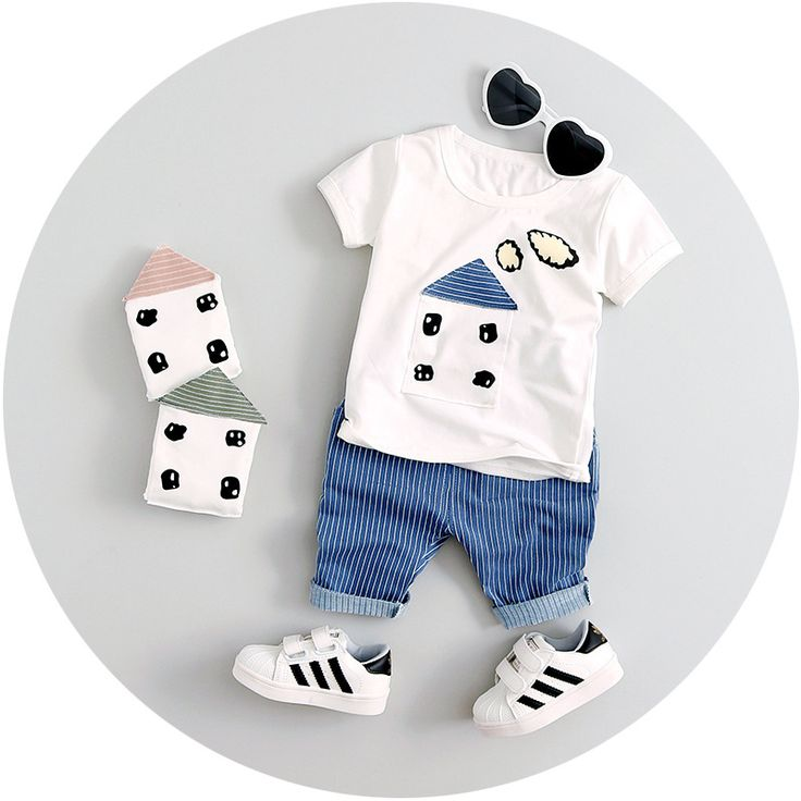 Character T shirt + Shorts Set $19.99