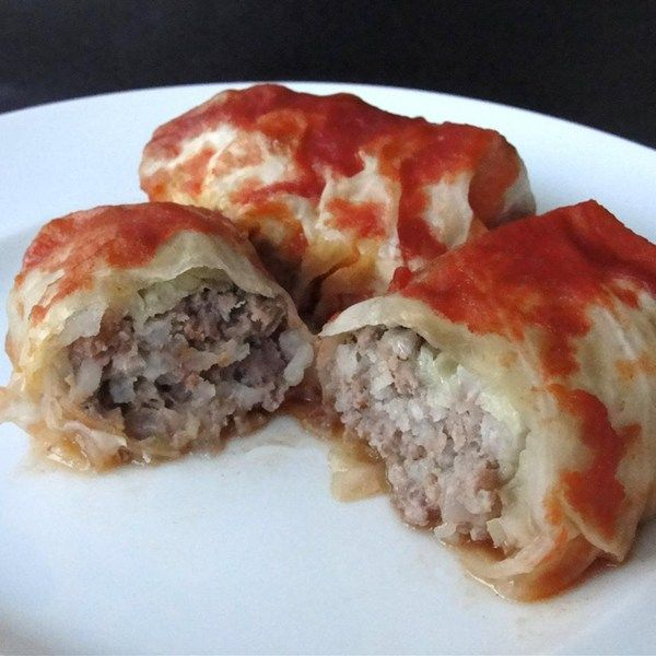 "Cabbage Rolls II | ""Cabbage leaves stuffed with ground beef, onion and ..."